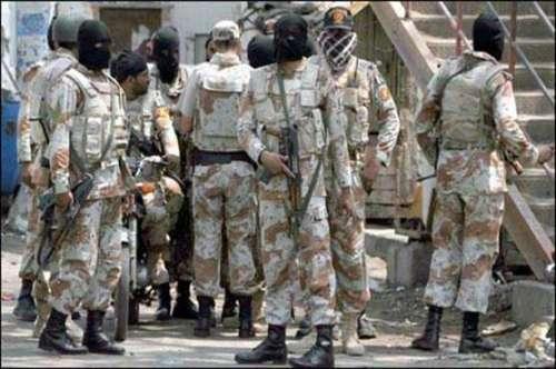 پاکستان رینجرز سندھ نے کراچی ..