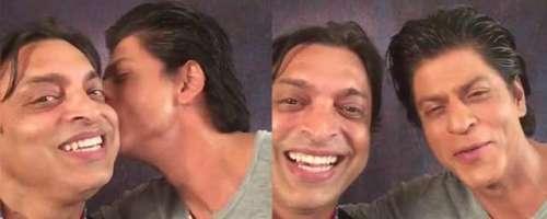 شعیب اختر کی شاہ رخ کے ساتھ ویڈیو ..