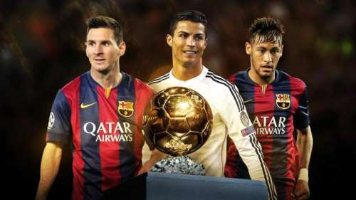 فٹبال پلیئر آف دی ایئر کیلئے ..