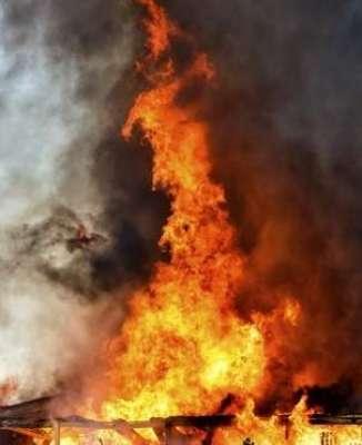 ترکی' سکول میں آتشزدگی' 6 بچے ..