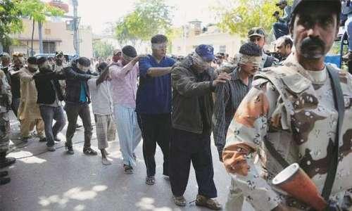 کراچی ، رینجرز کا ایم کیو ایم ..