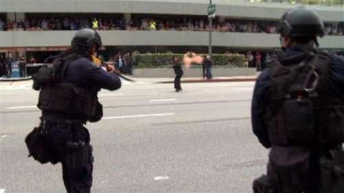 لاس اینجلس میں دہشت گرد حملہ، ..