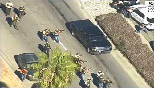 کیلی فورنیا حملے ، دوسرے حملہ ..