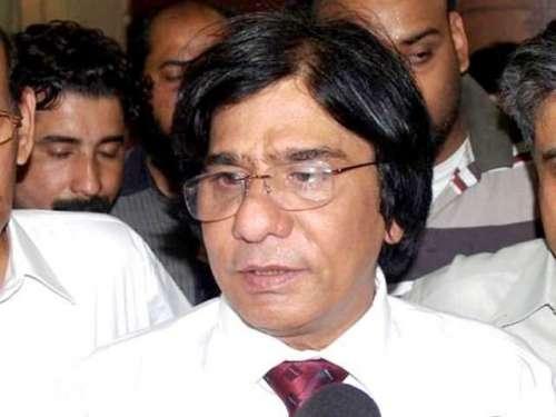 ایم کیو ایم کے رہنما رؤف صدیقی ..