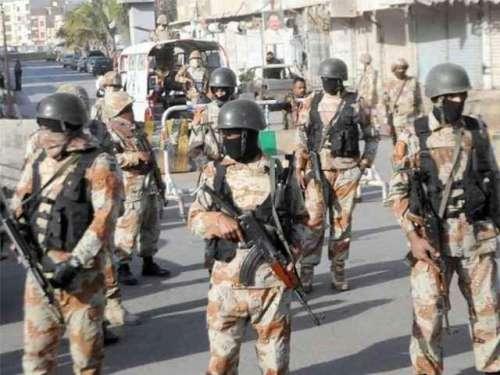 رینجرز اچانک کراچی کی سڑکوں ..