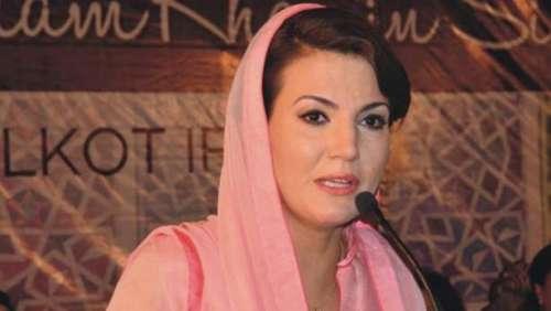 کراچی آمد پر ریحام خان کو ڈاکٹر ..