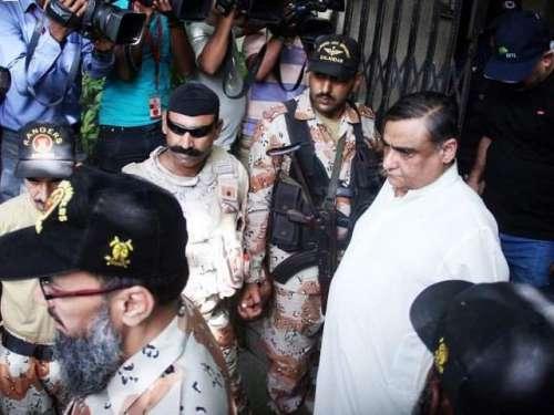 کراچی : ڈاکٹر عاصم حسین  کے معاملے ..