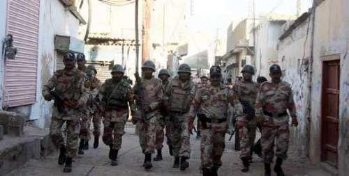 کراچی :  رینجرز اختیارات میں ..