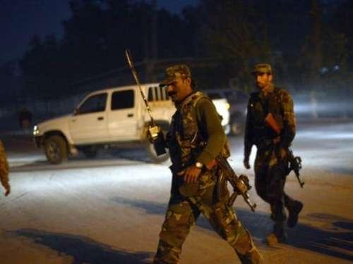 کراچی میں حساس ادارے کے ہیڈ کوارٹر ..