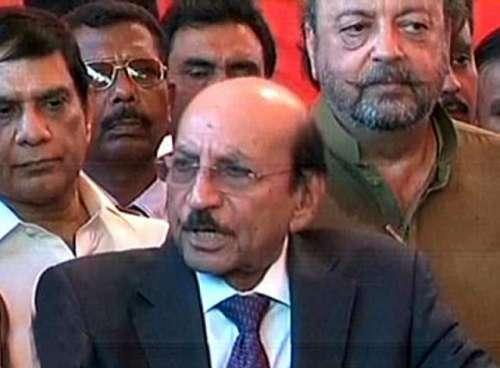 کراچی : وزیر اعلی سندھ قائم علی ..