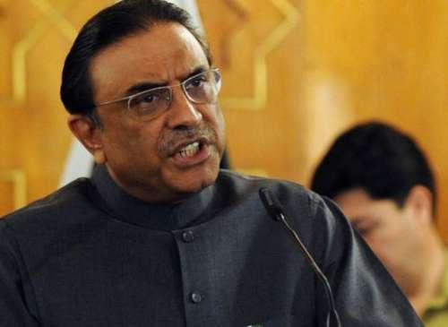 آصف زرداری کا کراچی میں وی آئی ..