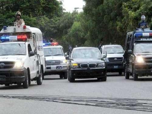 کراچی،خورشید شاہ کے بیٹے کی ..