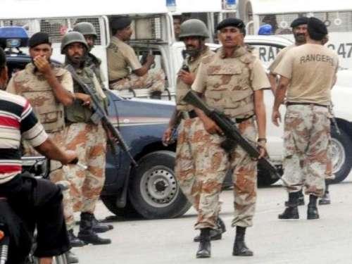کراچی ' رینجرز اور پولیس کی ..