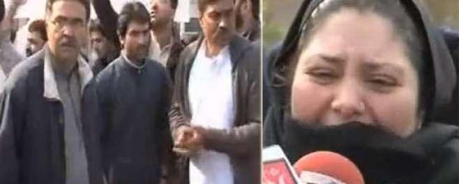 عمران اور ریحام خان کادورہ آرمی پبلک سکول،شہید بچوں کے والدین کا شدید ..