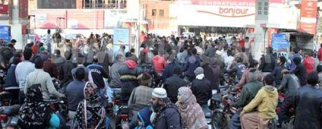 لاہور سمیت پنجاب بھر میں پٹرول نایاب،80 فیصد پٹرول سٹیشنز بند ،صارفین ..