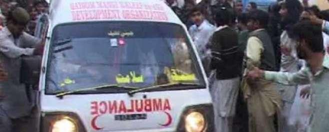 شکار پور: امام بارگاہ میں دھماکا، 35 افراد جاں بحق، 50 سے زائد زخمی