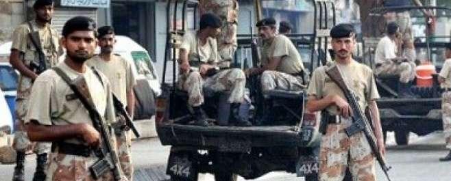 کراچی :ایم کیو ایم کے مرکز نائن زیرو پر چھاپہ ، غیر ملکی اسلحہ ، بلٹ ..