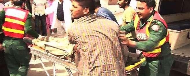 لاہور: یوحنا آباد میں 2 دھماکے، 3افراد ہلاک،40زخمی