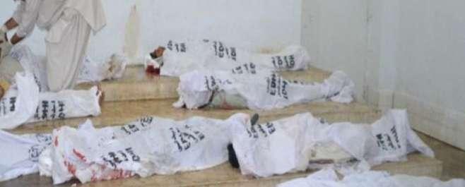تربت :شرپسندوں کی فائرنگ سے بیس مزدور جاں بحق