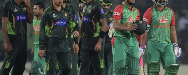 بنگلہ دیش نے پاکستان کو8وکٹوں سے بد ترین شکست دیکر سیریز میں وائٹ واش ..