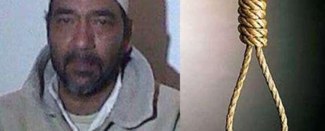 کوئٹہ : مچھ جیل میںصولت مرزا کو آج صبح تختہ دارپر لٹکا دیا گیا۔