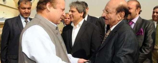 کراچی : وزیر اعظم نواز شریف آج ایک روزہ دورے پر کراچی پہنچ گئے، استقبال ..