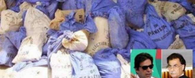 الیکشن ٹربیونل کا حلقہ این اے 122 اور پی پی 147 کے انتخابات کو کالعدم قرار ..