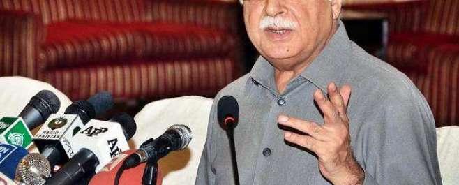 سینیٹر پرویز رشید نے عمران خان سے دہشت گردی کے خاتمے' امن کے قیام کیلئے ..
