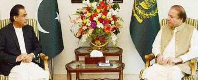 وزیر اعظم نے ایاز صادق کو سپیکر کیلئے کو ن لیگ کا امیدوار نامزد کر دیا