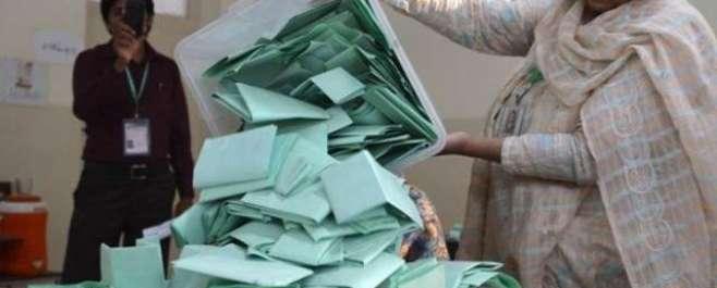 پنجاب اور سندھ میں بلدیاتی انتخابات کے دوسرے مرحلے کے لیے پولنگ کا ..