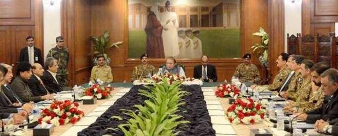کراچی میں آپریشن سات آٹھ سال پہلے شروع ہونا چاہئے تھا، امن و امان پر ..