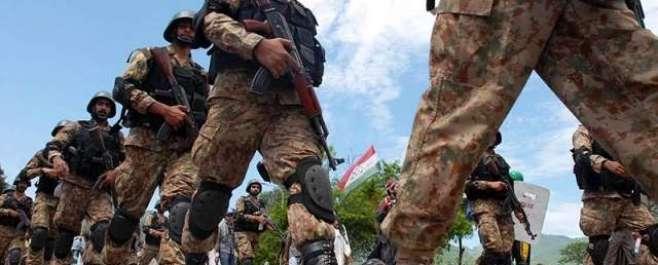 راولپنڈی:  ضرب عضب کا ڈیڑھ سال مکمل ،غیر معمولی کامیابیاں حاصل ہوئیں۔ڈی ..