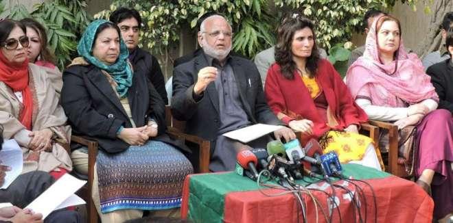 حکومت مذاکرات کے نام پر عوام کو دھوکہ دے رہی ہے ، دھرنا ملکی مفادات ..