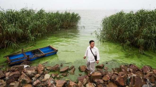 چین ہائی کورٹ نے 6 اداروں کو دریاوٴں کو آلودہ کرنے کی وجہ سے160 ملین ..