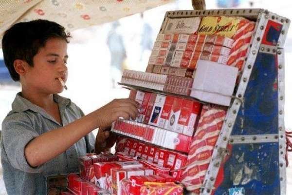 سگریٹوں کی غیر قانونی تجارت اور سمگلنگ کی وجہ سے پاکستان کو سالانہ ..