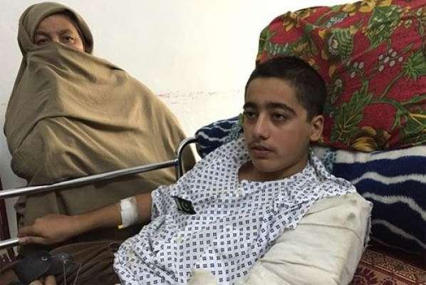 برطانیہ میں سانحہ پشاور کے زخمی طالب علم احمد نواز کا آپریشن کامیاب ..