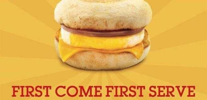 9مارچ کو پورے ملک میں ناشتہ مفت،پہلے آئیے پہلے پائیے
