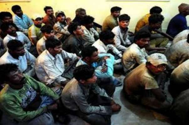 کراچی : میری ٹائم سکیورٹی فورس کی کاروائی، 46 بھارتی ماہی گیر گرفتار