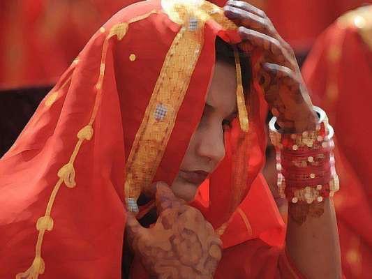 کم عمری کی شادی'دولہا وگواہان کے ناقابل ضمانت وارنٹ گرفتاری جاری