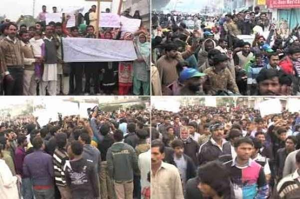 کراچی: سانحہ یوحنا آباد مختلف مذاہب کے لوگوں کو لڑوانے کی سازش ہے، تحریک ..
