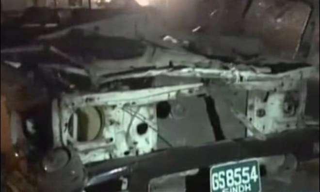 کراچی: نارتھ ناظم آباد میں دھماکا، 2 رینجرز اہلکار ہلاک