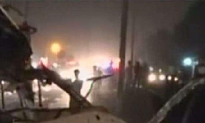 کراچی میں خودکش حملہ، دو رینجرز اہلکار ہلاک