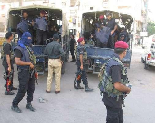کراچی: اورنگی ٹاوَن میں حساس اداروں کی کاروائی، 5 دہشت گرد گرفتار