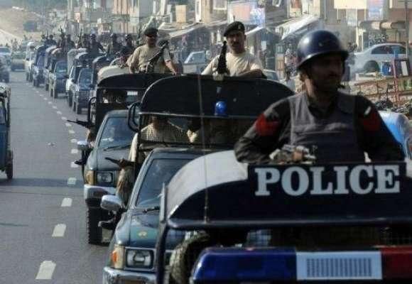 کراچی، بلدیہ ٹاوٴن میں نا معلوم ملزمان نے گھر میں گھس کر پولیس افسر ..