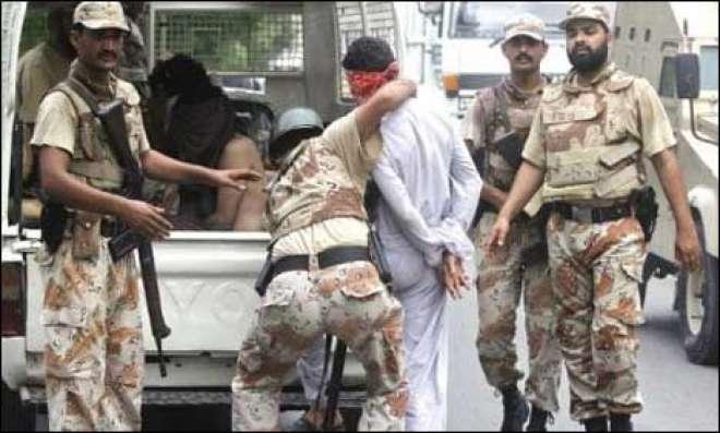 کراچی میں رینجرزپر حملہ کے بعددہشت گردوں کے خلاف کارروائیاں تیزکردی ..