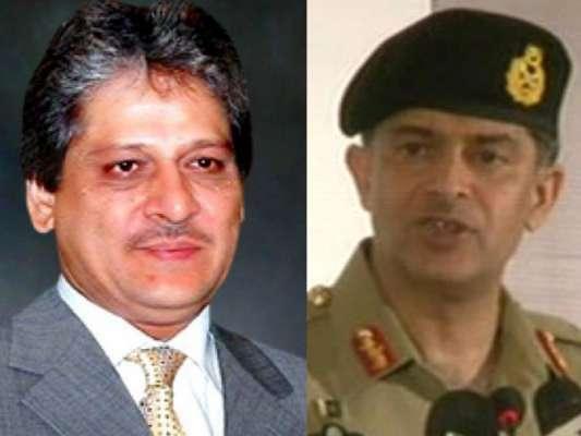 کور کمانڈر کراچی کی گورنر سندھ سے ملاقات ، امن و امان سمیت اہم امور ..
