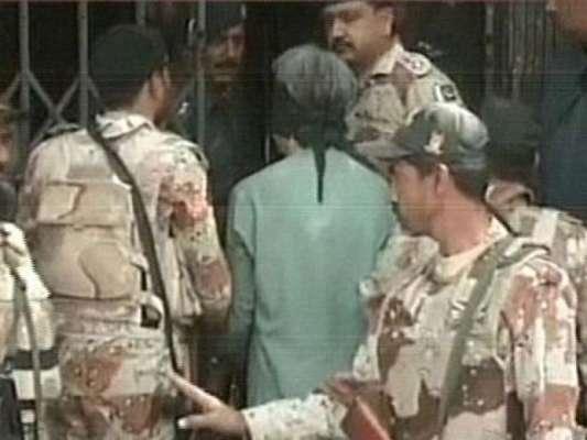 کراچی : انسداد دہشت گردی عدالت میں پیش کیے جانے ایم کیو ایم کے 8 کارکنان ..