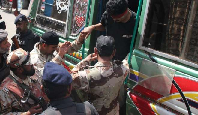 انسداد دہشتگردی کی خصوصی عدالت نے نائن زیرو کے قریب گرفتار 8ملزمان ..