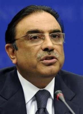 کراچی: جوڈیشل کمیشن کا قیام دھرنا سیاست کا خاتمہ ہو  گا : آصف علی زرداری