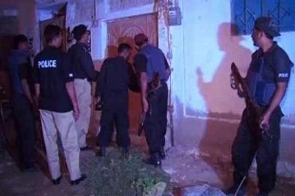 کراچی،سپر ہائی وے پر کالعدم تنظیم کے دو ٹارگٹ کلرز مقابلے میں ہلاک